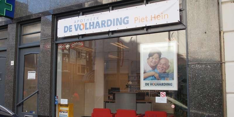 Apotheek de Volharding in de Zoutmanstraat te Den Haag