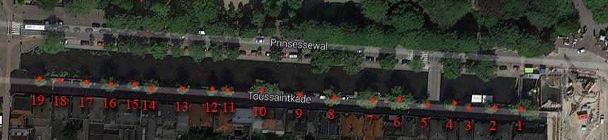 Bomenkap aan de Veenkade en de Toussaintkade