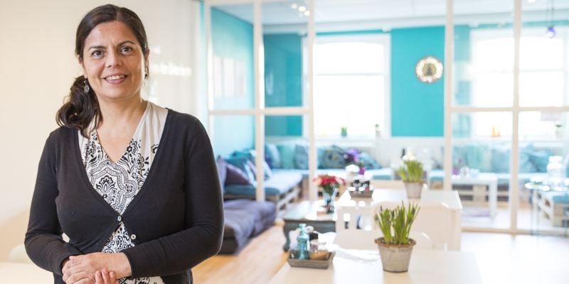Namaste spiritueel cafe den haag Prins Hendrikplein Den Haag