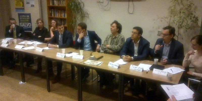 politiek debat Heldenhoek