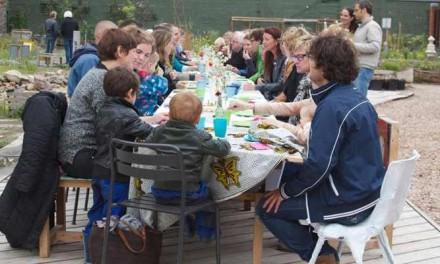 Zomerse pop-up lunch in de Zeeheldentuin groot succes
