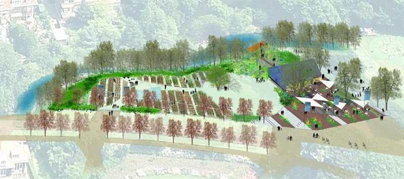 Vruchtbare grond voor eetbare tuin