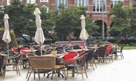 Behandeling beroep met betrekking tot het terras van de Pastakantine op het Prinshendrikplein