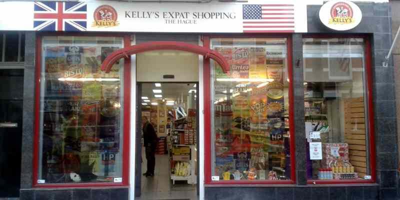 Kelly's Expat Shopping Supermarkt Zeeheldenkwartier Den Haag