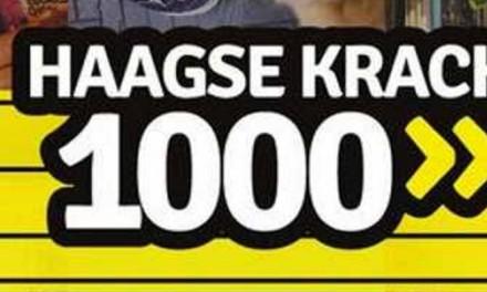 Haagse Krach 1000 – Haagse duurzaamheid in beweging gezet!
