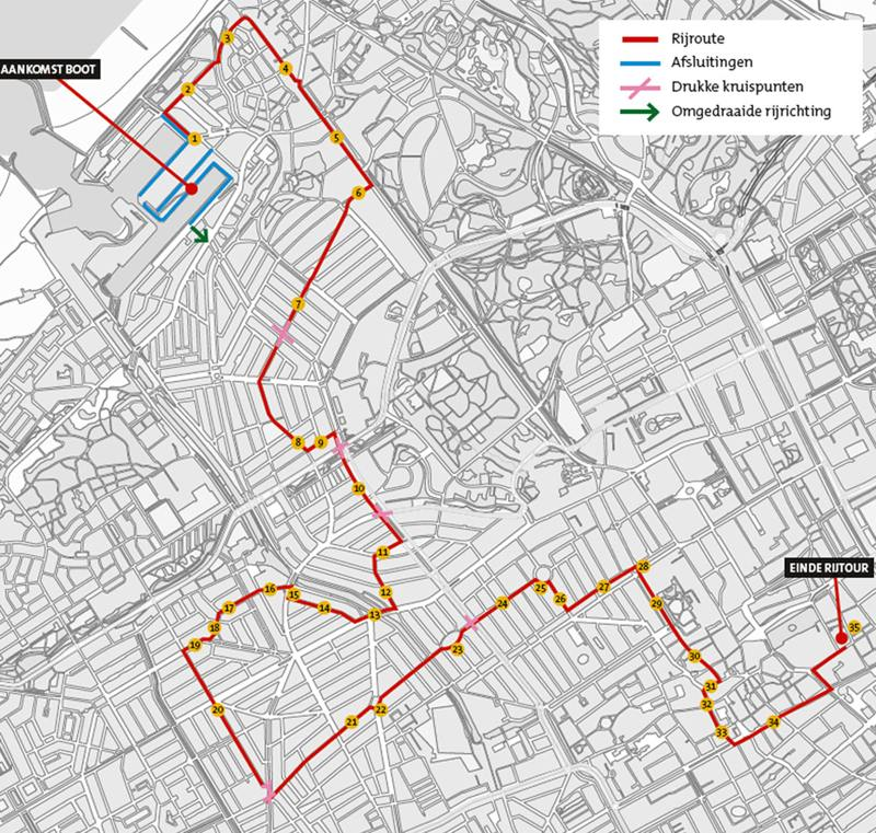 route sinterklaas 14 november 2015 Den Haag intocht
