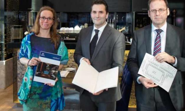 Braille informatiepakket Hilton The Hague