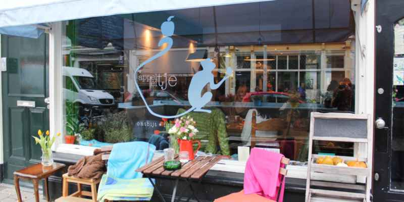 lunchroom Appeltje Eitje Prins Hendrikstraat Den Haag