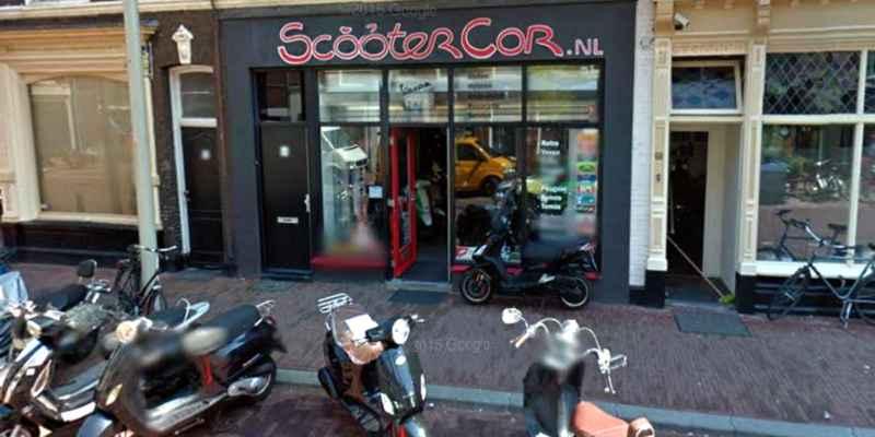 scooters cor prins hendrikstraat den haag