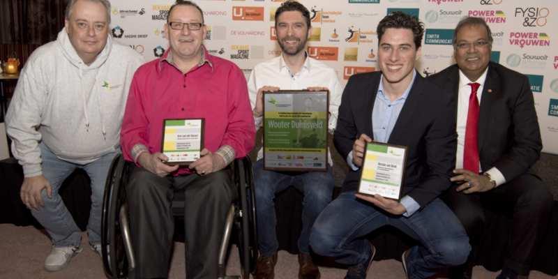 Wouter Duinisveld wint Haagse Sportprijs voor Gehandicapten