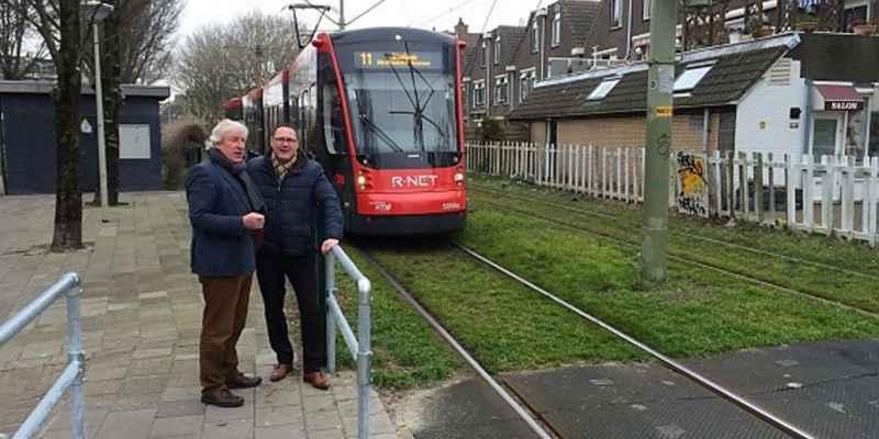 nieuwe tram den haag
