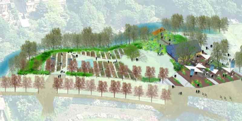 westbroekpark Eden food truck Den Haag biologische tuin 3