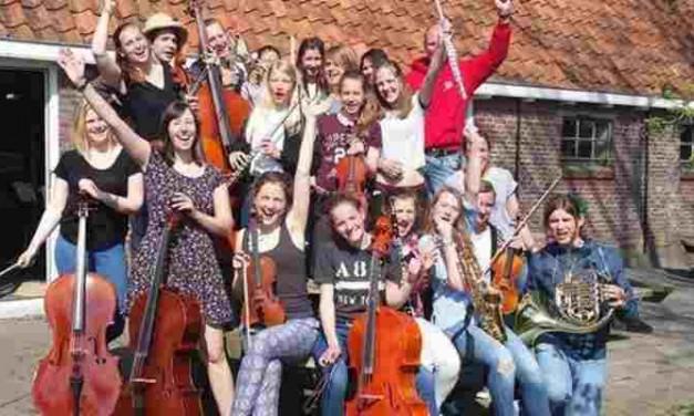 Concert door jeugdorkest H.I.J. op zaterdag 25 juni 2016