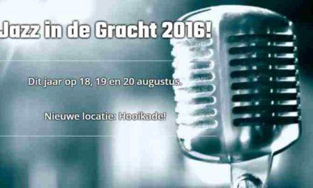 Jazz in de Gracht  18-19-20 augustus 2016 wederom in Den Haag