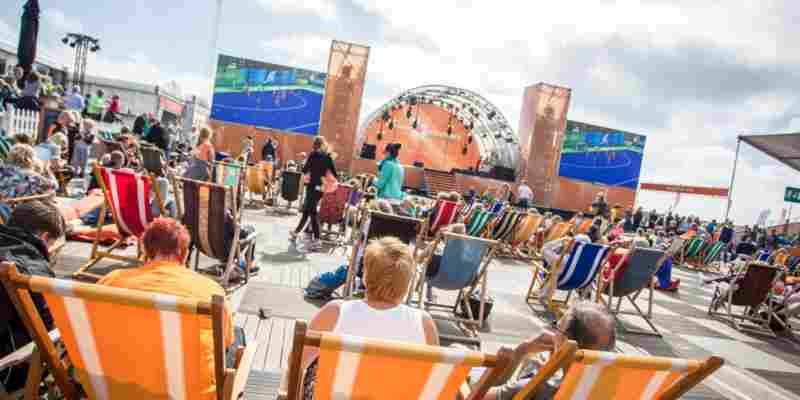 Meer dan 40.000 bezoekers na eerste week Olympic Experience Den Haag scheveningen