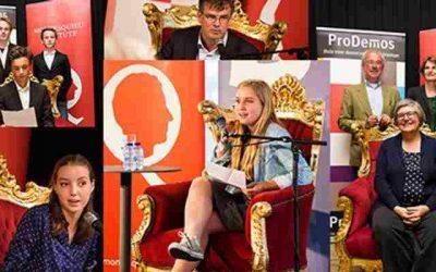 ProDemos en het Prinsjesfestival: Doe mee met Pimp de Troonrede!