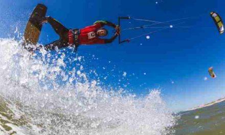 Kitesurf marathon voor een gezond hart