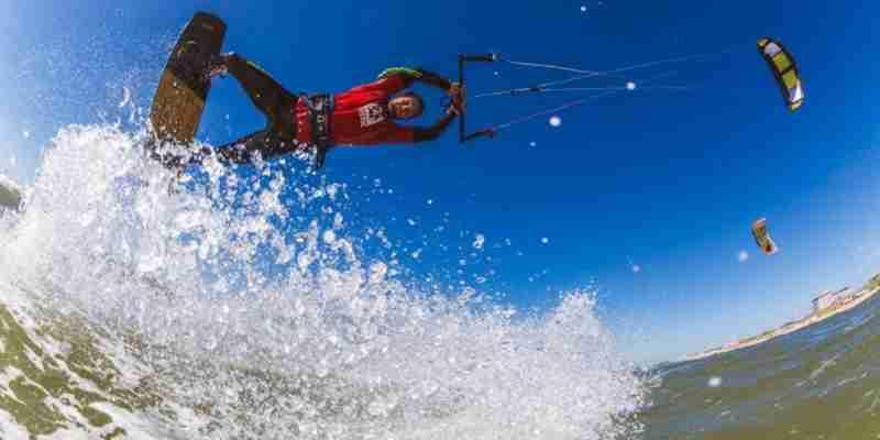 hartstichting nederland kite surfen