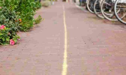 Gele krijtstreep in Zeeheldenkwartier wordt vanaf maandag 12 september verwijderd.