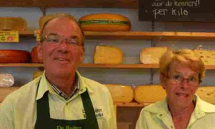Kaasmarkt De Ruijter 35 jaar