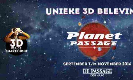 Marsmannetjes en ruimteschepen in De Passage Den Haag
