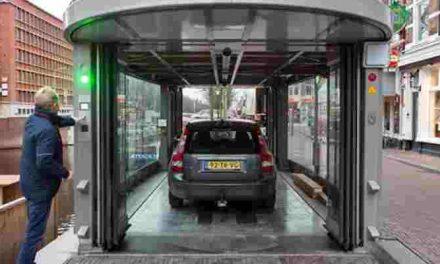 Ingebruikname volautomatische autoberging Noordwal-Veenkade
