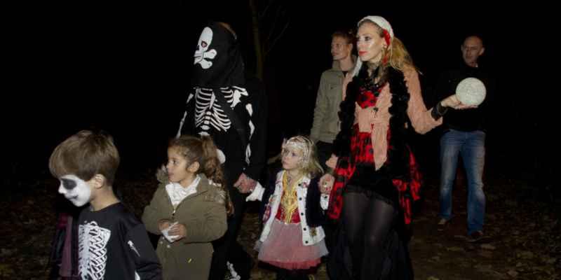 Halloween scouting Brigitta Valentijn 2016