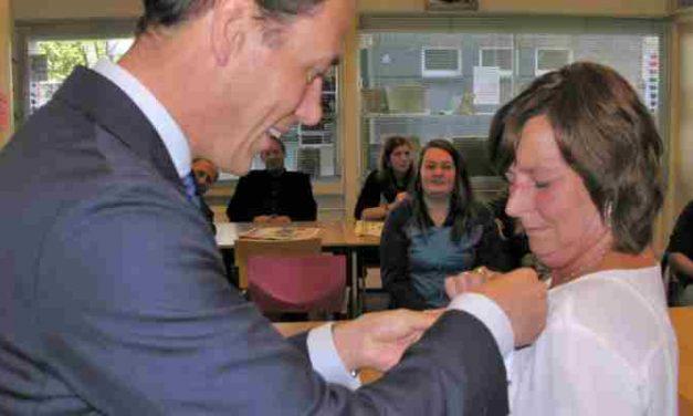 Stadsspeld voor Wilma Smit: 25 jaar actief als vrijwilligster!