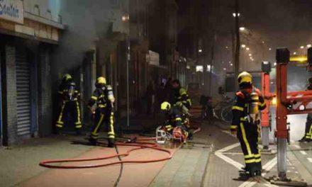 Brand bij Alter Sanitair aan de Elandstraat
