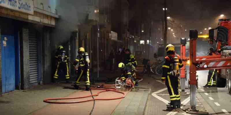 Brand Elandstraat Den Haag