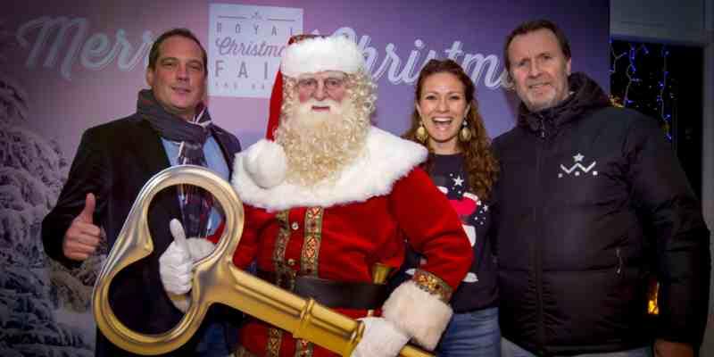 15 december 2016 3e editie Royal Christmas Fair op feestelijke wijze geopend