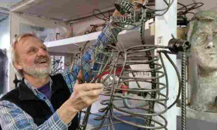Zeeheld Peter van Loon: Beeldende kunst voor binnen en buiten