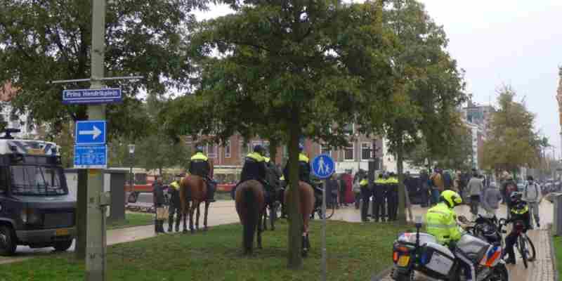 demonstraties prins Hendrikplein den haag