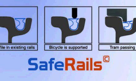 Saferails: Nooit meer klem in de rails van de tram