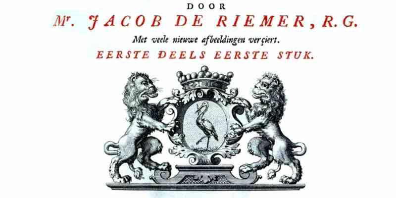 Jacob de Riemer - Beschryving van 's_Graven-hage