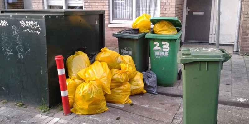 gele-vuilniszakken