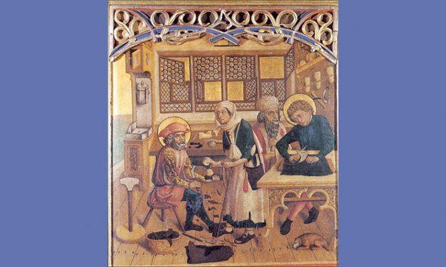 Sint Crispijn (3e eeuw na Chr.); Standvastige weldoeners