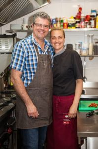 Ana Paula en Ralf Mensak