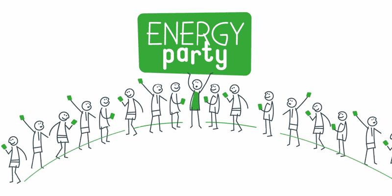 Volhoudbare Zeehelden: EnergyParty